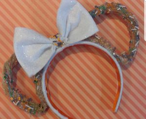 Thanksgiving Minnie Mouse Churros Scented Headband ears for Sale in San Diego, CA