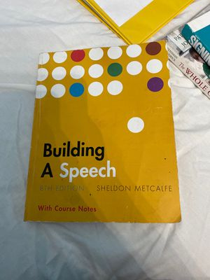 Intro to public speaking book for Sale in Tulare, CA