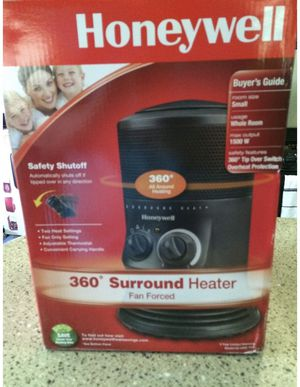 Heater Honeywell 360 surround heater HZ-0360-WMT for Sale in Fort Lauderdale, FL