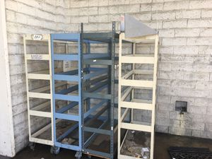 Warehouse carts parts equipment contractors carts for Sale in San Diego, CA
