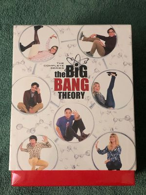 BIG BANG THEORY THE COMPLETE SERIES BOX SET ALL 12 SEASONS SEALED for Sale in IND HEAD PARK, IL