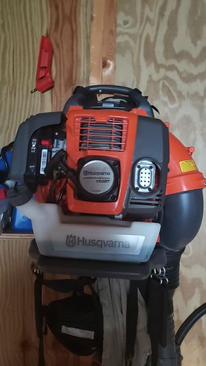 Husqvarna back pack blower. Excellent condition. Just used couple times at home. 150 bt for Sale in Tunnel Hill, GA