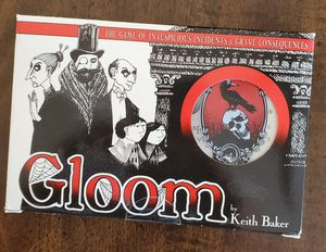 Gloom board game for Sale in Tempe, AZ
