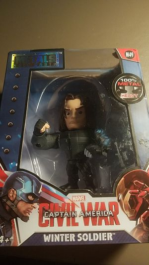Marvel captain America civil war metal winter soldier for Sale in Clinton, IA