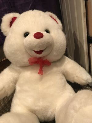 3 big teddy bear white, pink, and brown. All come together for Sale in Warrensburg, MO