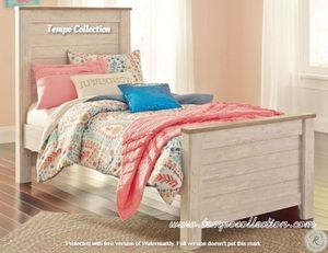 NEW IN THE BOX. STYLISH TWIN PANEL BED, SKU# TCB267-53-52-83 for Sale in Huntington Beach, CA