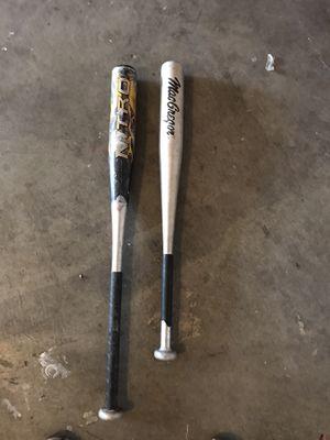 T ball baseball bats for Sale in Las Vegas, NV