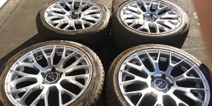 Avarus New 20X9.5 5X5 5X127 5 LUG PATTERN with like 256/40/20 Toyo Proxi tires $800 Firm for Sale in Stockton, CA