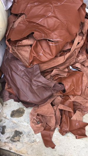 leather pieces scraps for Sale in San Diego, CA