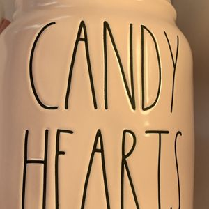 Rae Dunn Pink Candy Hearts Baby Canister New Valentines Day for Sale in Alexandria, VA