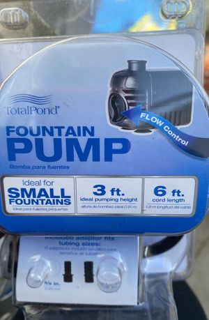 Small fountain ⛲️ pump for Sale in Bakersfield, CA