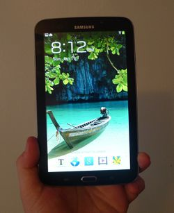 Unlocked Galaxy Tab 3 with Sony Headphones (Read Details) for Sale in The Bronx, NY