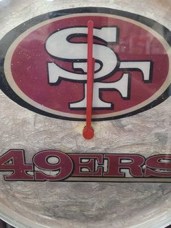 49ERS SAN FRANCISCO NLF CLOCK for Sale in Los Angeles,  CA