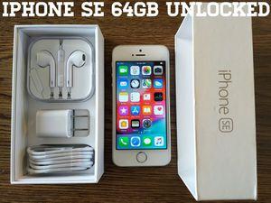 Iphone SE UNLOCKED 64GB (Like-New) for Sale in Falls Church, VA