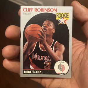 CLIFF ROBINSON ROOKIE CARD NBA for Sale in Bellwood, IL