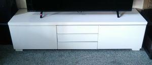 White Ikea TV Stand for Sale in Blackstone, MA