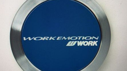 Work Emotion Wheel center caps (Flat Type) W120222 blue new for Sale in Indianapolis,  IN