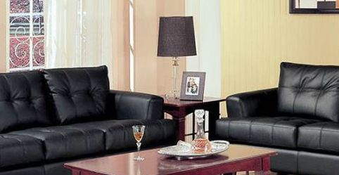 Black Leather Sofa And Loveseat !! Brand New for Sale in Chicago,  IL