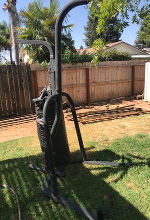 Punching bag with stand and speed bag for Sale in Reedley, CA