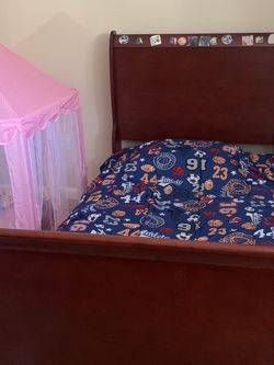 Twin Bedroom With Dresser and Mattress for Sale in Roswell,  GA
