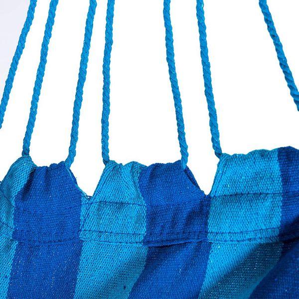 SUNMERIT Garden Patio Porch Hanging Cotton Rope Hammock Swing Chair