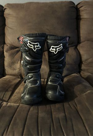 Fox Racing Youth Comp 5 Black Boots for Sale in Santa Clara, CA