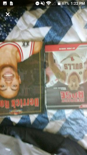 Two Derrick rose book for Sale in Pekin, IL