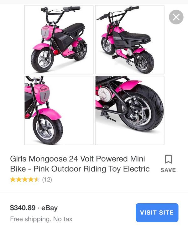 Motorcycle for children