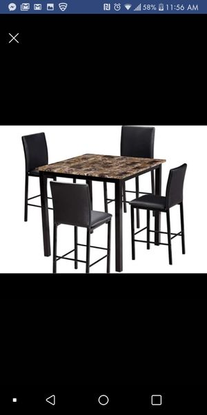 Brand New Counter Heigjt 5pc. Dining Table Set for Sale in Austin, TX