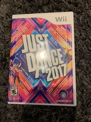 Just Dance 2017 for Nintendo Wii for Sale in Apex, NC