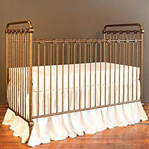 Used, Wrought Iron Crib and Changing Table for Sale for sale  Brooklyn, NY