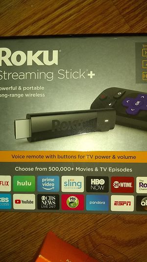 Roku Streaming Stick+ for Sale in Tustin, CA