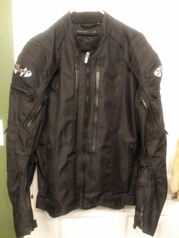 Motocycle helmet and jacket