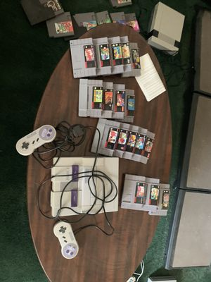 Super Nintendo and about 25 games for Sale in Holladay, UT