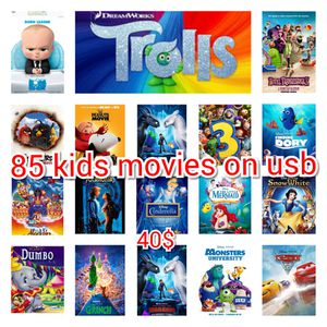 85 kid's movies on usb for Sale in Bellflower, CA