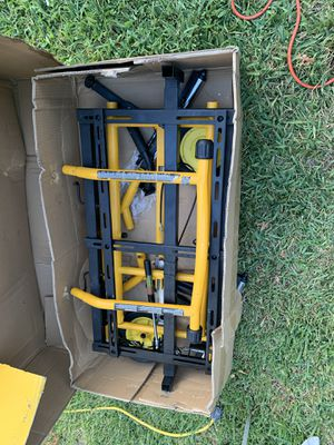 Dewalt table saw stand as is/ asi como se mira en foto! for Sale in Irving, TX