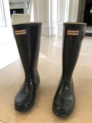 Grey Hunter Rain Boots (size 5) for Sale in Coral Gables, FL
