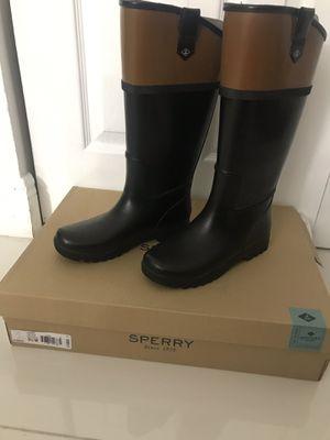 Sperry Rain Boots Women's 5.5 for Sale in Miami, FL