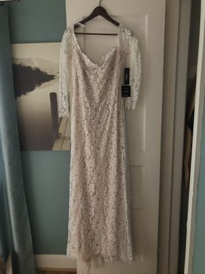 Wedding dress, shoes new (never used) for Sale in Takoma Park, MD