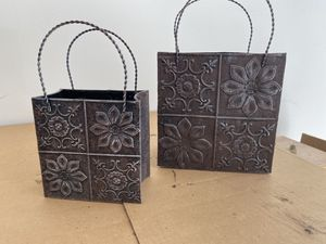 Metal decorative bags for Sale in Bay City, MI