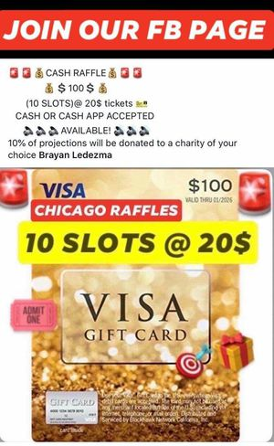 Chicago raffles for Sale in Harvey, IL
