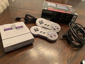 Super Nintendo SNes Mini Classic for Sale in Las Vegas, NV