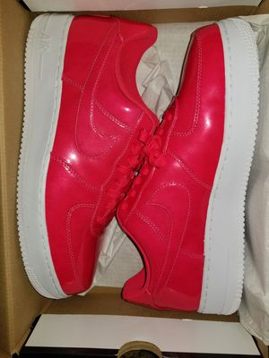 Brand new size 10.5 air force  1 they are a bright  dark pink/redish color serious buyer's only please and thanks for Sale in Everett, WA