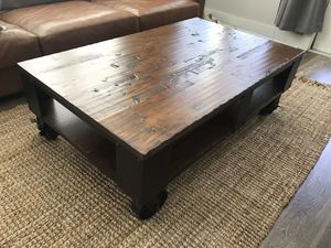 Industrial coffee table for Sale in Atlanta, GA