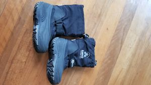Kamik Toddler Snow Boots Size 10 Black $15 for Sale in Everett, WA