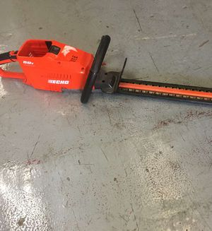 Echo 58 volt 12 in Brushless Cordless Hedge trimmer tool only for Sale in Mesa, AZ