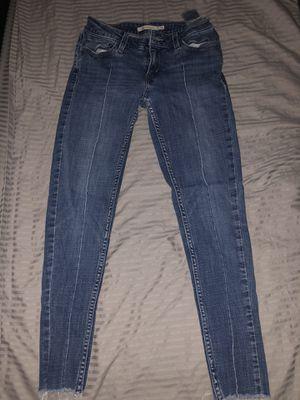535 Super Skinny Cutoff Levi Jeans for Sale in Las Vegas, NV
