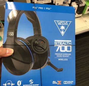 BRAND NEW TURTLE BEACH STEALTH 700 PS4 Headset for Sale in Reston, VA