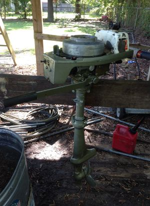 2 hp Johnson outboard boat motor for Sale in Friendswood, TX