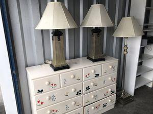 Lamp set for Sale in Chesapeake, VA